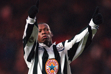 Iconic Moment: Asprilla's flying start for Newcastle