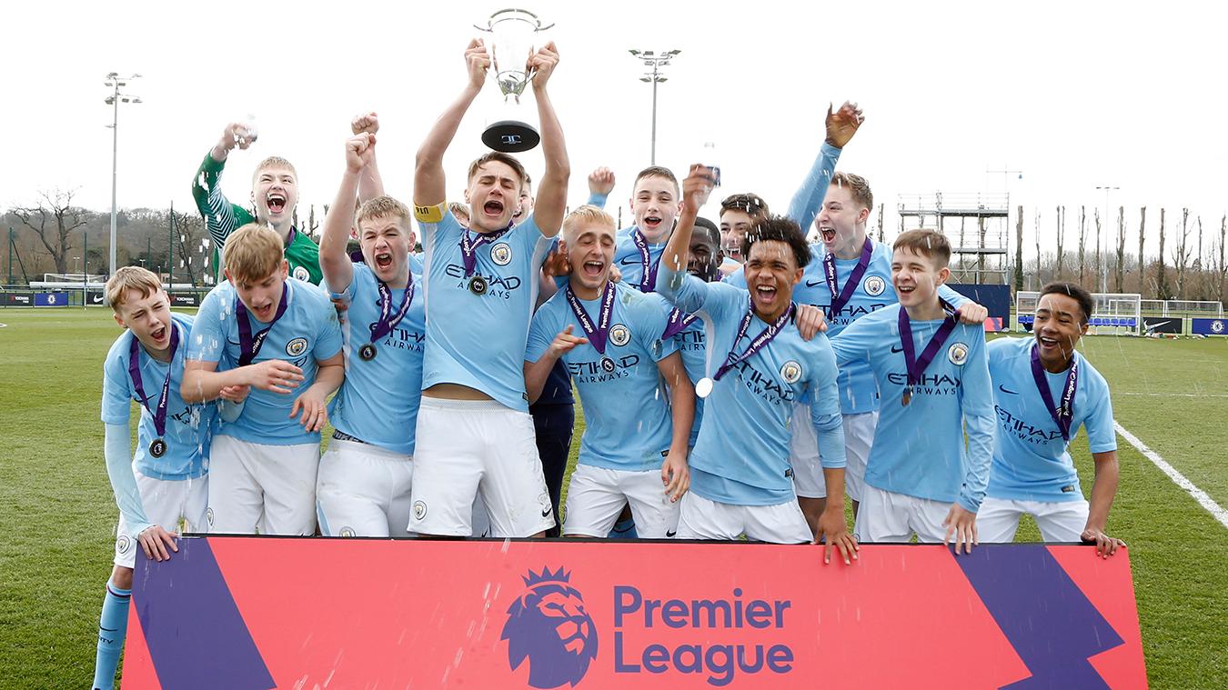 U16 Premier League Cup: Man City