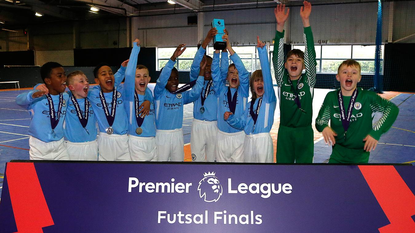 U10 Futsal Finals: Man City