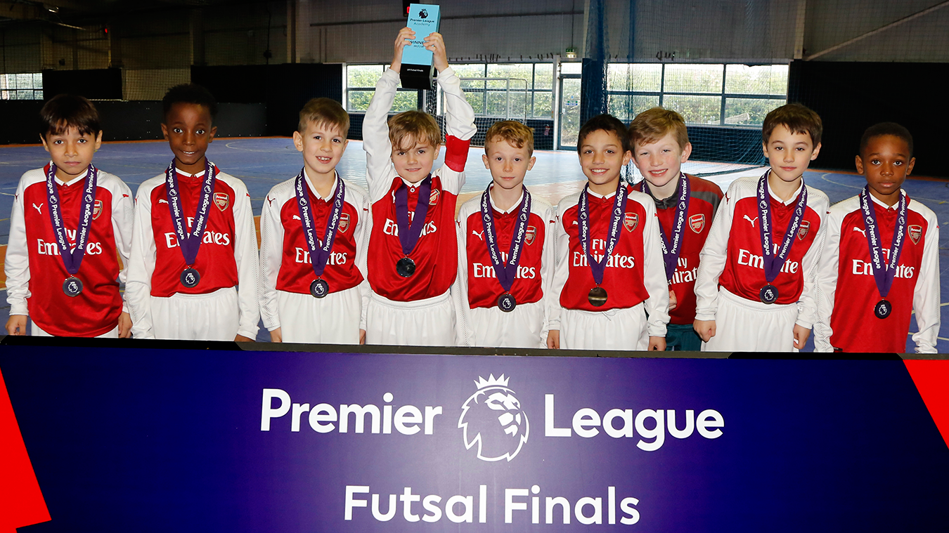 U9 Futsal Finals: Arsenal