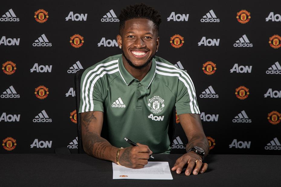 Fred joins Man Utd