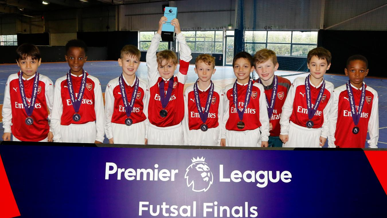 Arsenal win 2018 U9 Futsal Final