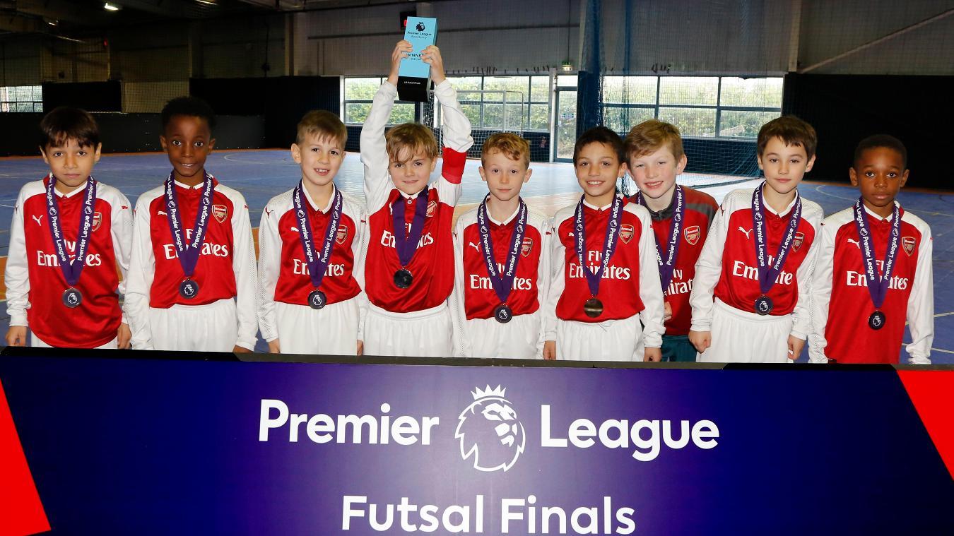 Arsenal win 2018 U9 Futsal Final