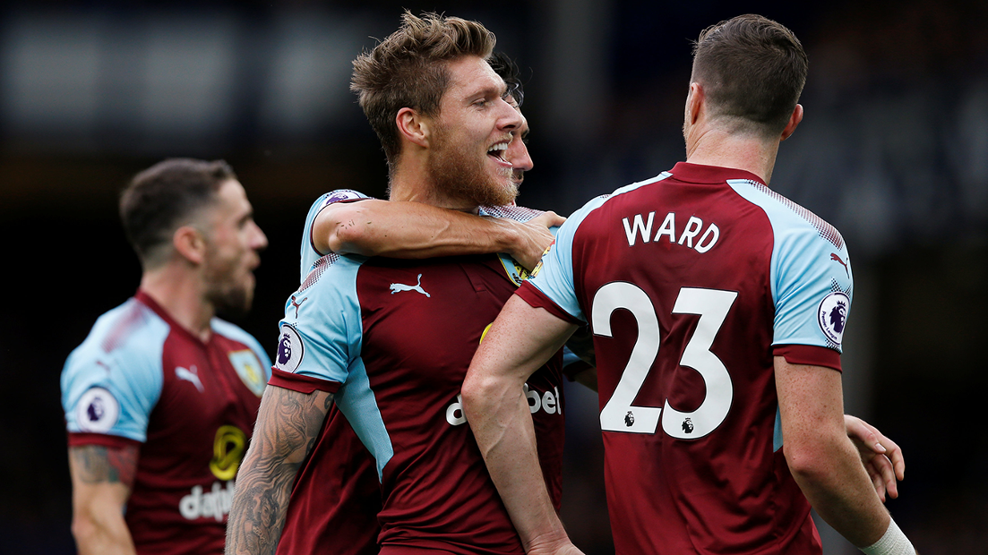 Jeff Hendrick and Stephen Ward, Burnley