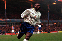 Watch Hasselbaink's classy free-kick at Aston Villa