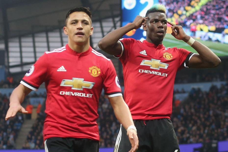 Paul Pogba and Alexis Sanchez, Man Utd