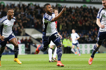 Goal of the day: Sessegnon stunner for West Brom
