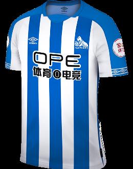 Huddersfield home kit, 2018-19