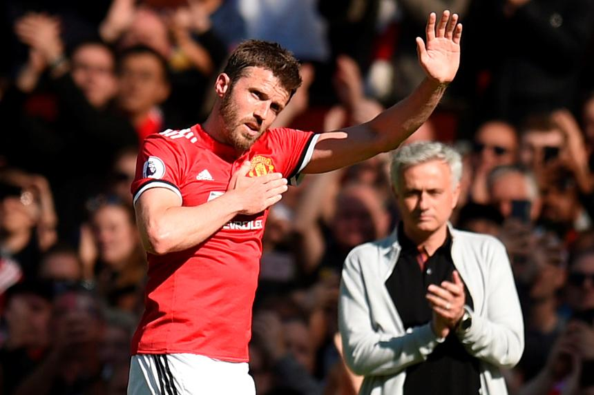 Michael Carrick, Man Utd