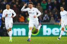 Goal of the day: Mawson's thumping volley
