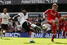 Emmanuel Adebayor v Liverpool