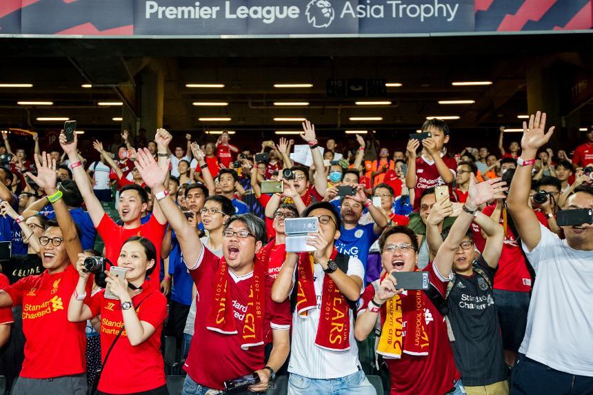 Premier League Asia Trophy, Liverpool fans