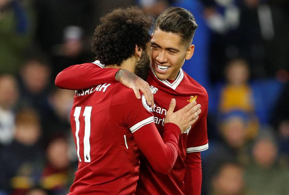 Firmino and Salah, Liverpool
