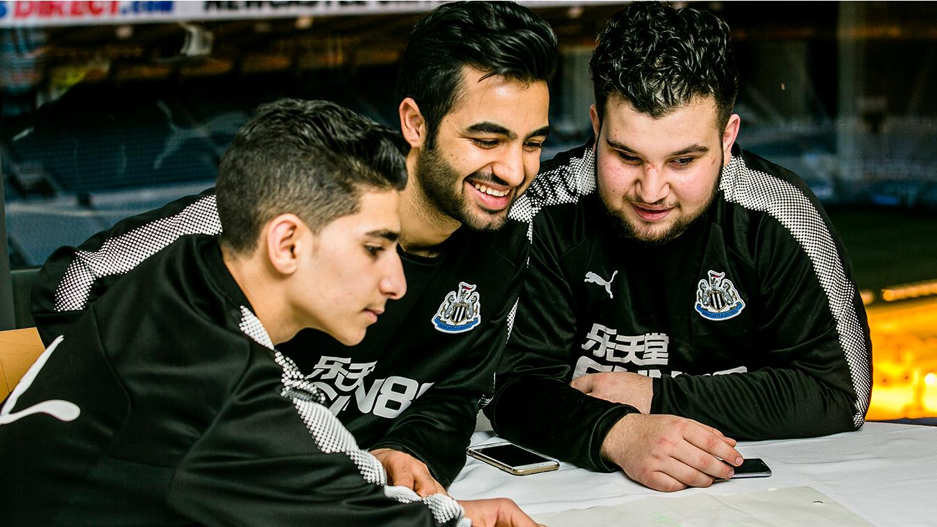 Hikmat, Newcastle United Foundation