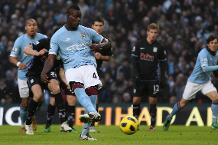 Iconic Moment: Balotelli's maiden Man City treble