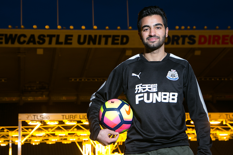 Hikmat Sulaiman, Newcastle United Foundation
