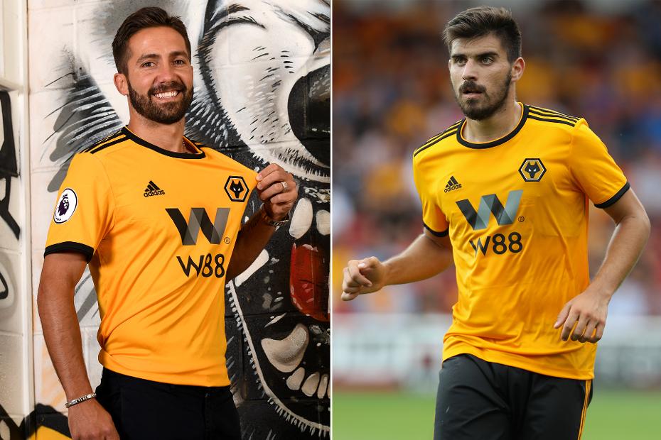 Joao Moutinho and Ruben Neves, Wolves