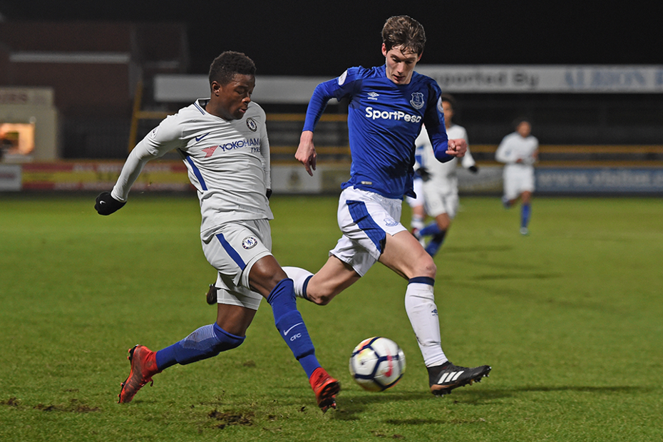 Chelsea in PL2 action against Everton