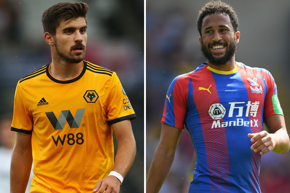 Ruben Neves or Wolves and Crystal Palace's Andros Townsend