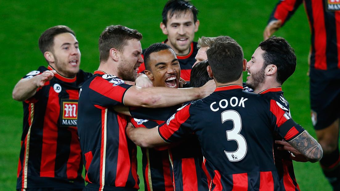 AFC Bournemouth 2-1 Man Utd, 2015/16