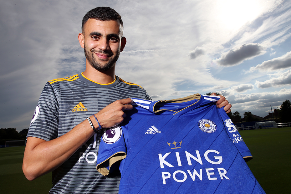 Rachid Ghezzal signs for Leicester City