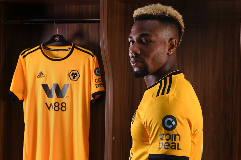 Adama Traore signs for Wolves