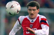 Goal of the day: Jensen curls in for Arsenal