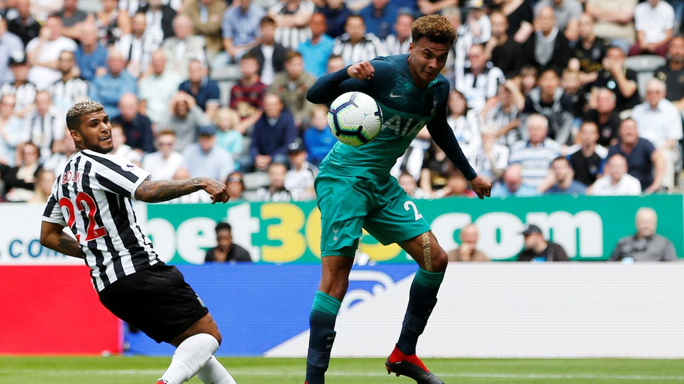 Newcastle United 1-2 Tottenham Hotspur