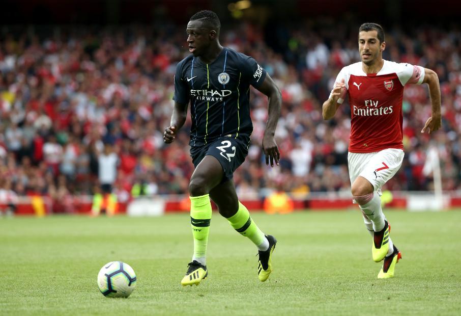 Arsenal v Manchester City - Benjamin Mendy