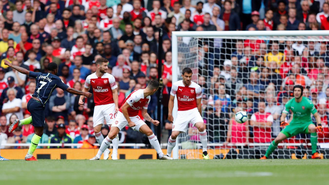 Arsenal 0-2 Manchester City