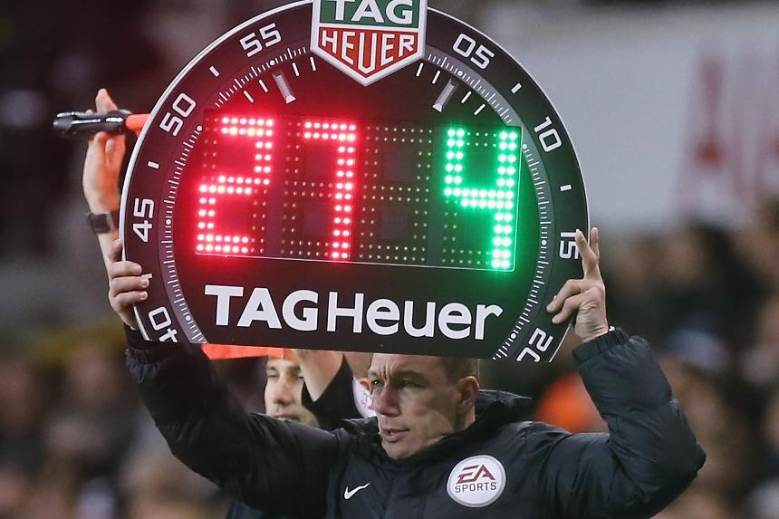 TAG Heuer substitute board