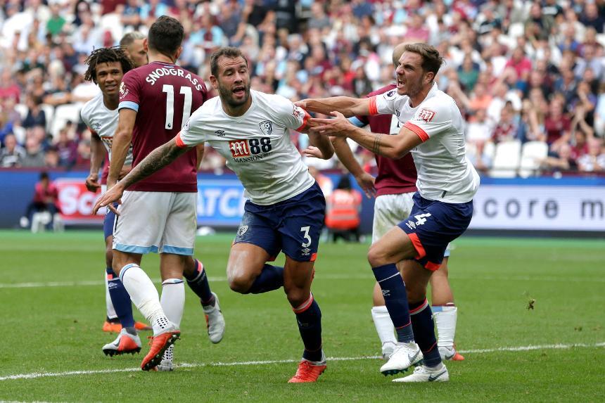 West Ham United 1-2 AFC Bournemouth