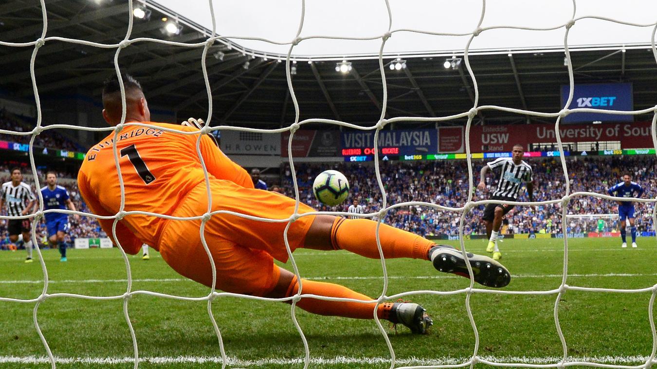 Cardiff City v Newcastle United