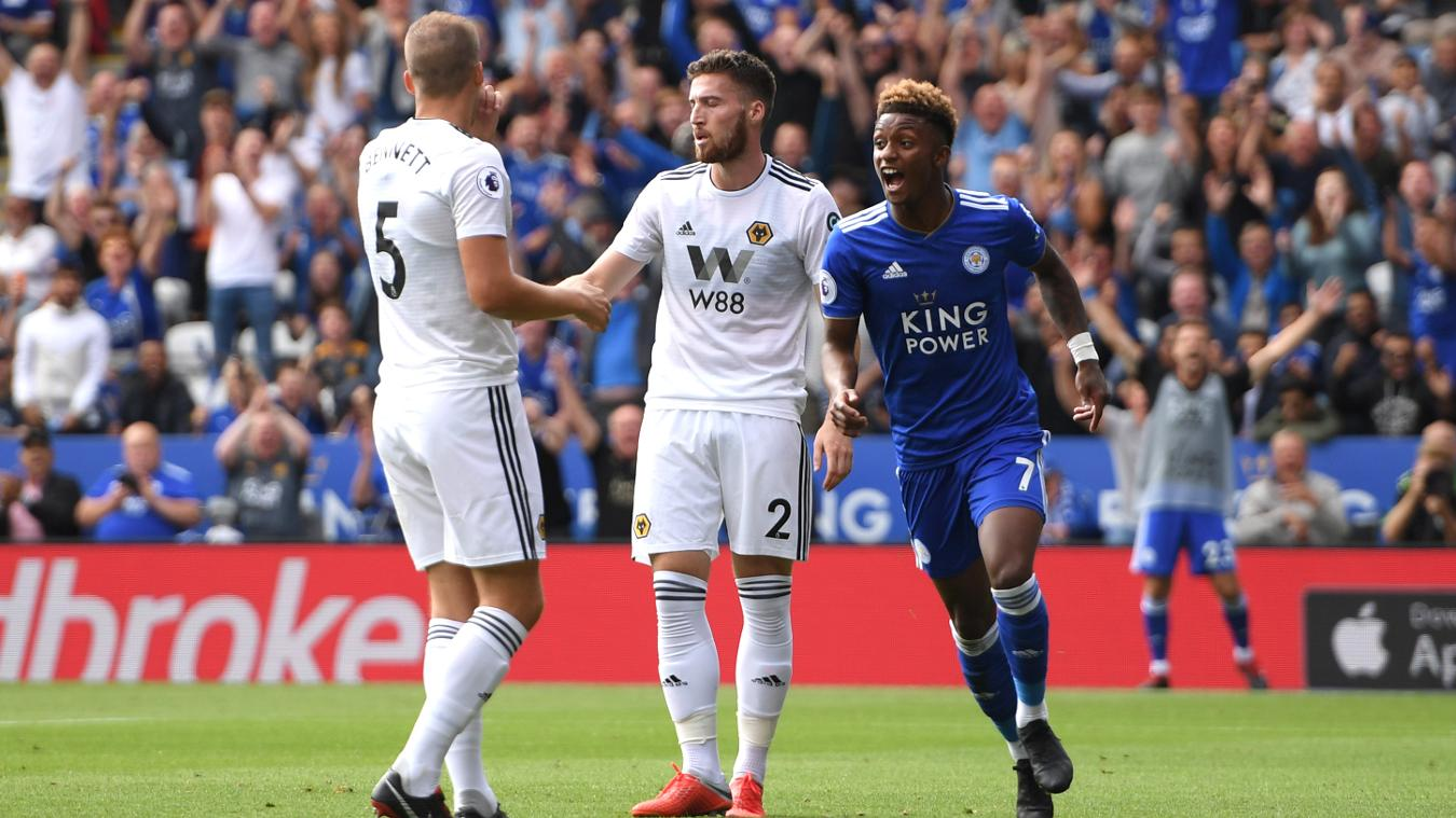 Leicester City 2-0 Wolverhampton Wanderers