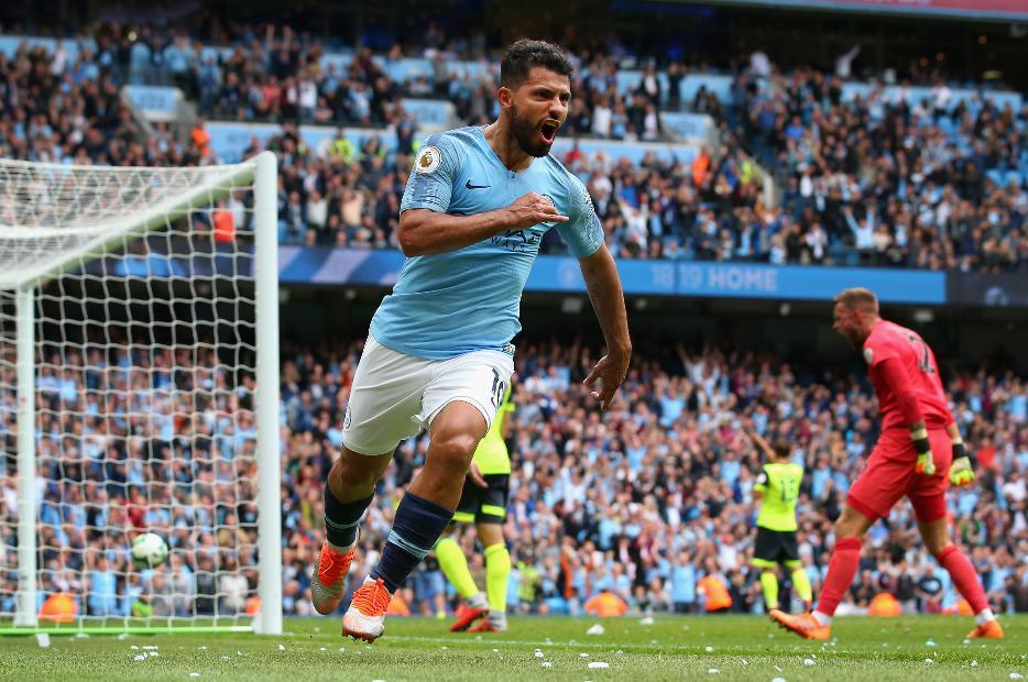 Man City v Huddersfield Town