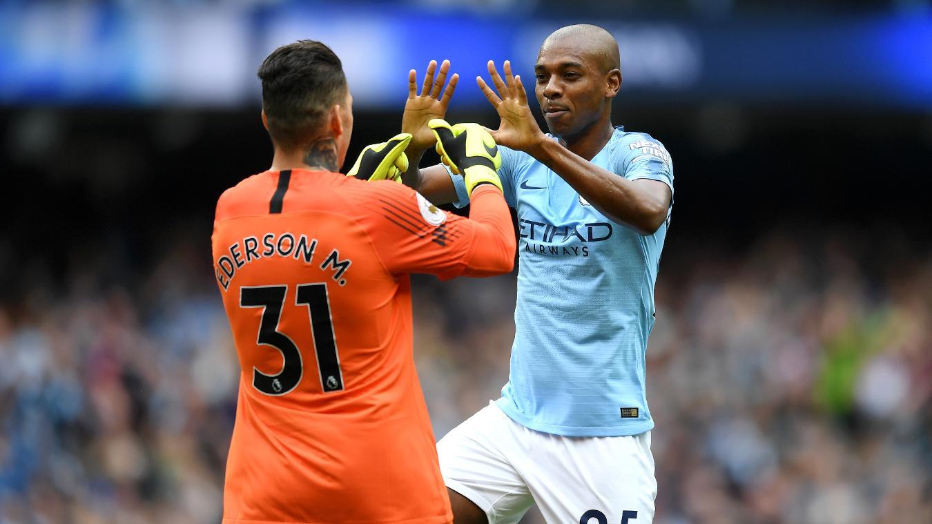 Manchester City 6-1 Huddersfield Town