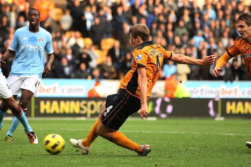 Wolves V Man City 2010 11 Premier League
