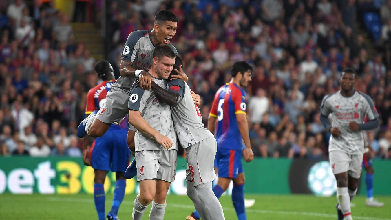 Crystal Palace 0-2 Liverpool