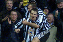 Flashback: Hamann goes solo for Newcastle
