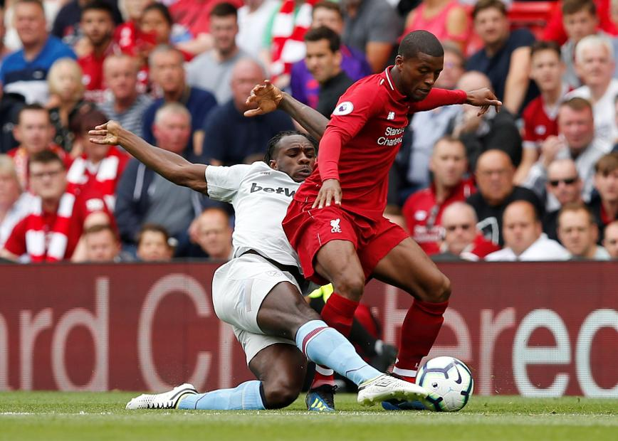 Liverpool v West Ham, Georginio Wijnaldum