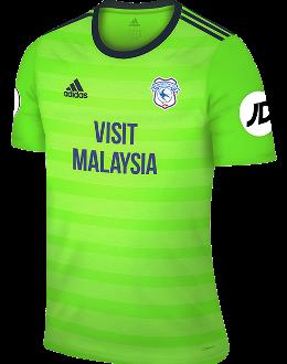Cardiff third kit, 2018-19