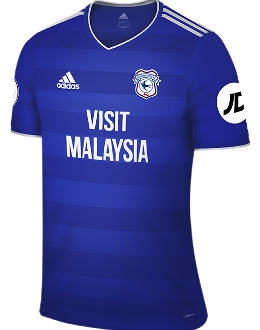 Cardiff home kit, 2018-19