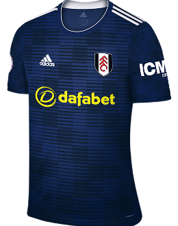 Fulham away kit, 2018-19