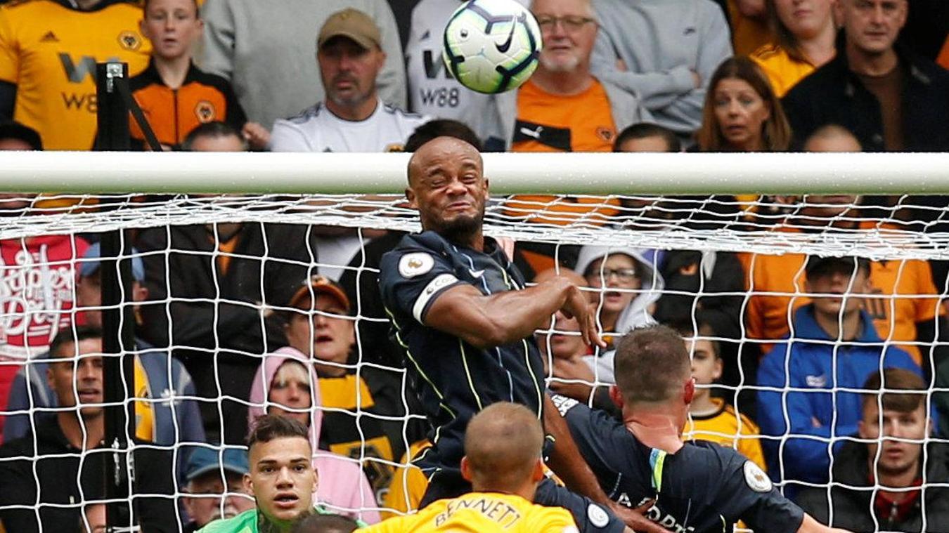 Wolverhampton Wanderers 1-1 Manchester City
