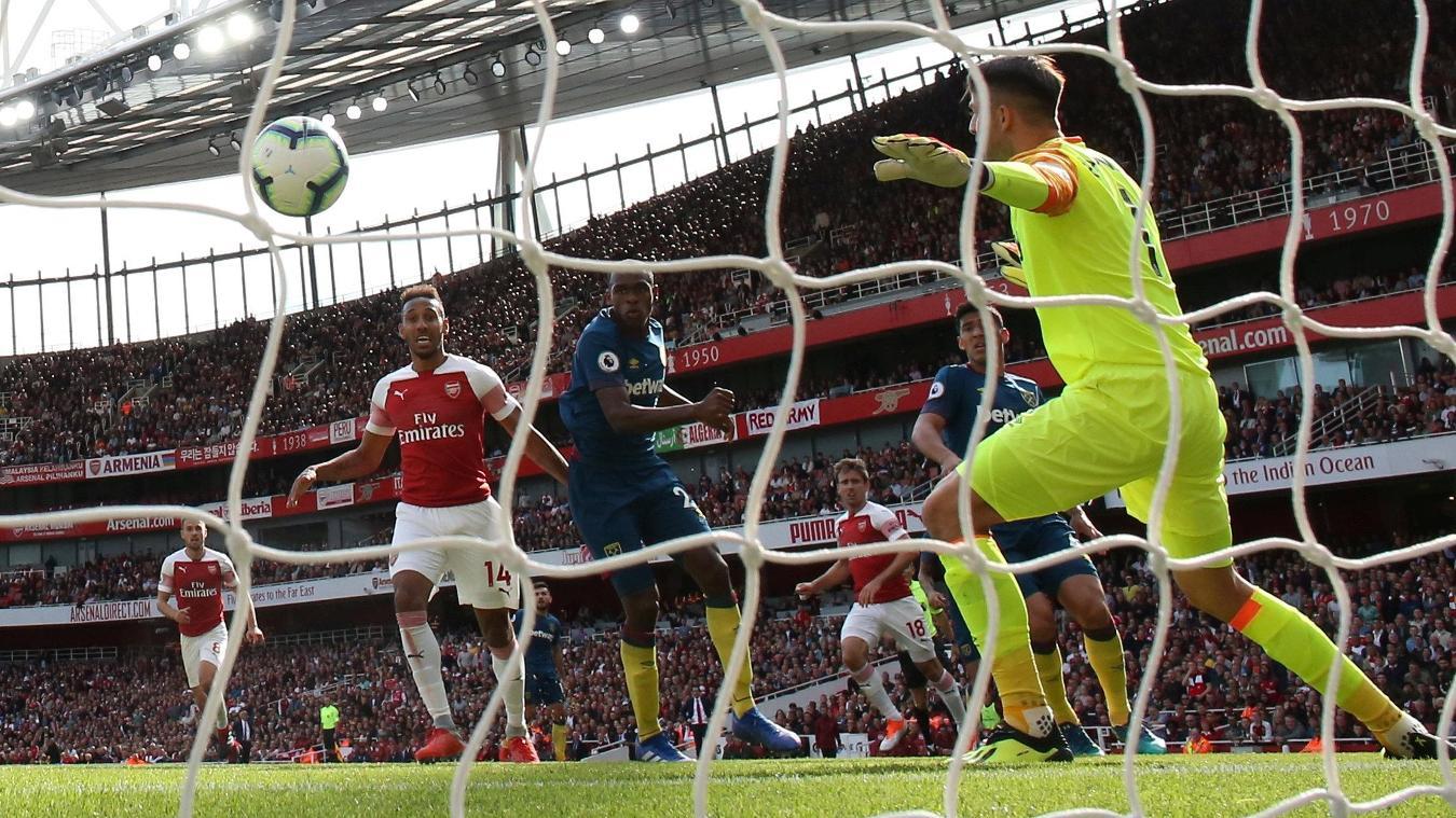 Arsenal 3-1 West Ham United