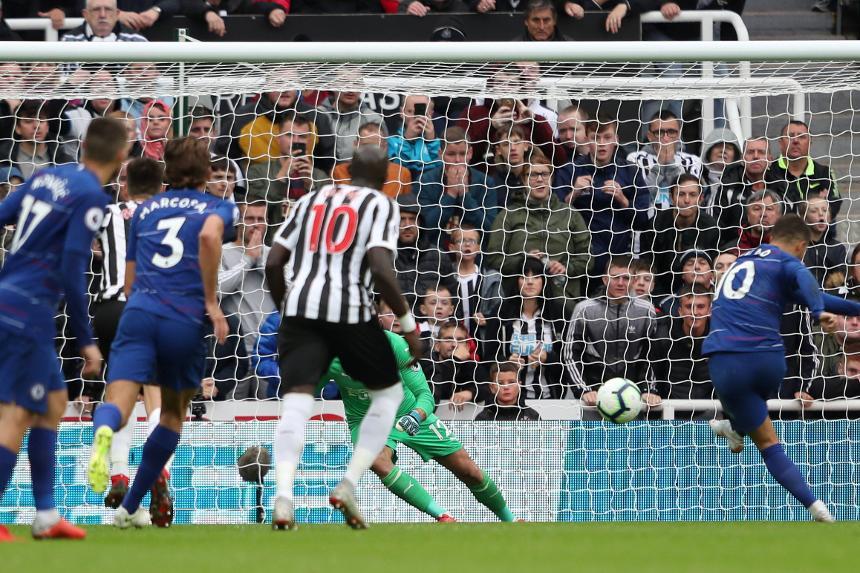 Newcastle United 1-2 Chelsea