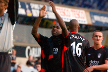 Flashback: Hayles inspires Fulham win at Spurs