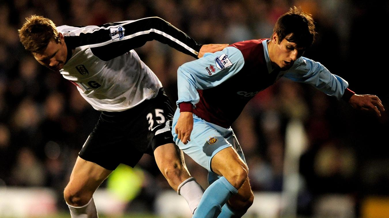 Jack Cork, Fulham v Burnley, 2010