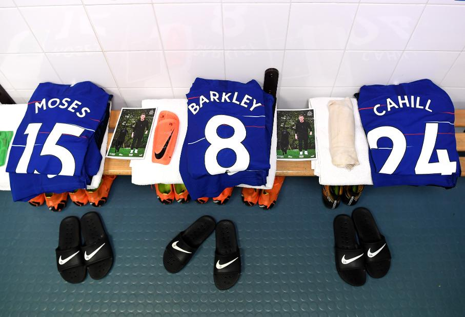 Chelsea squad numbers