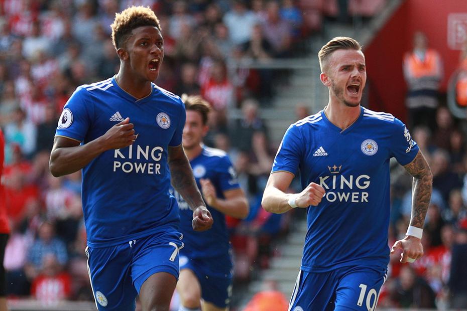 Demarai Gray and James Maddison, Leicester City